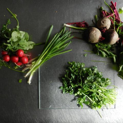 produce parsley no knife